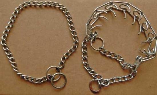 Prong Collar And Choke Chain